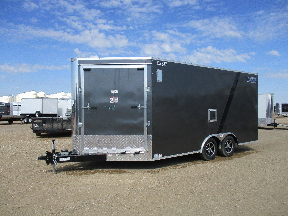 Enclosed Snowmobile Trailer Lowboy