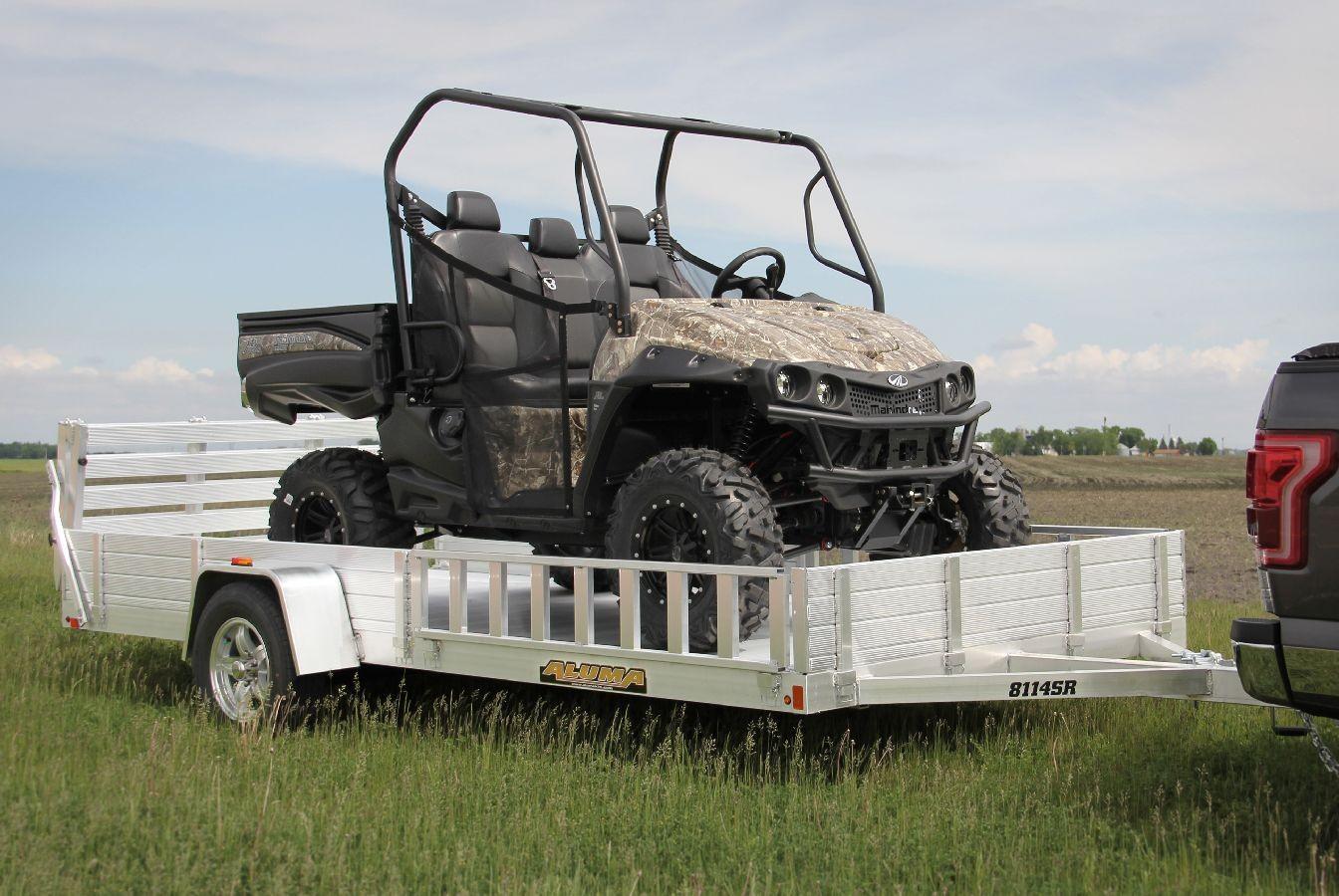 Single Axle Utility Trailer Heavy Duty