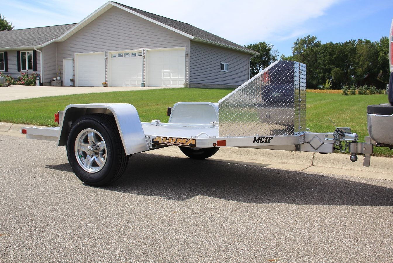 Motorcycle Loading Ramp >> Motorcycle Hauler Trailer | Motorcycle Trailers