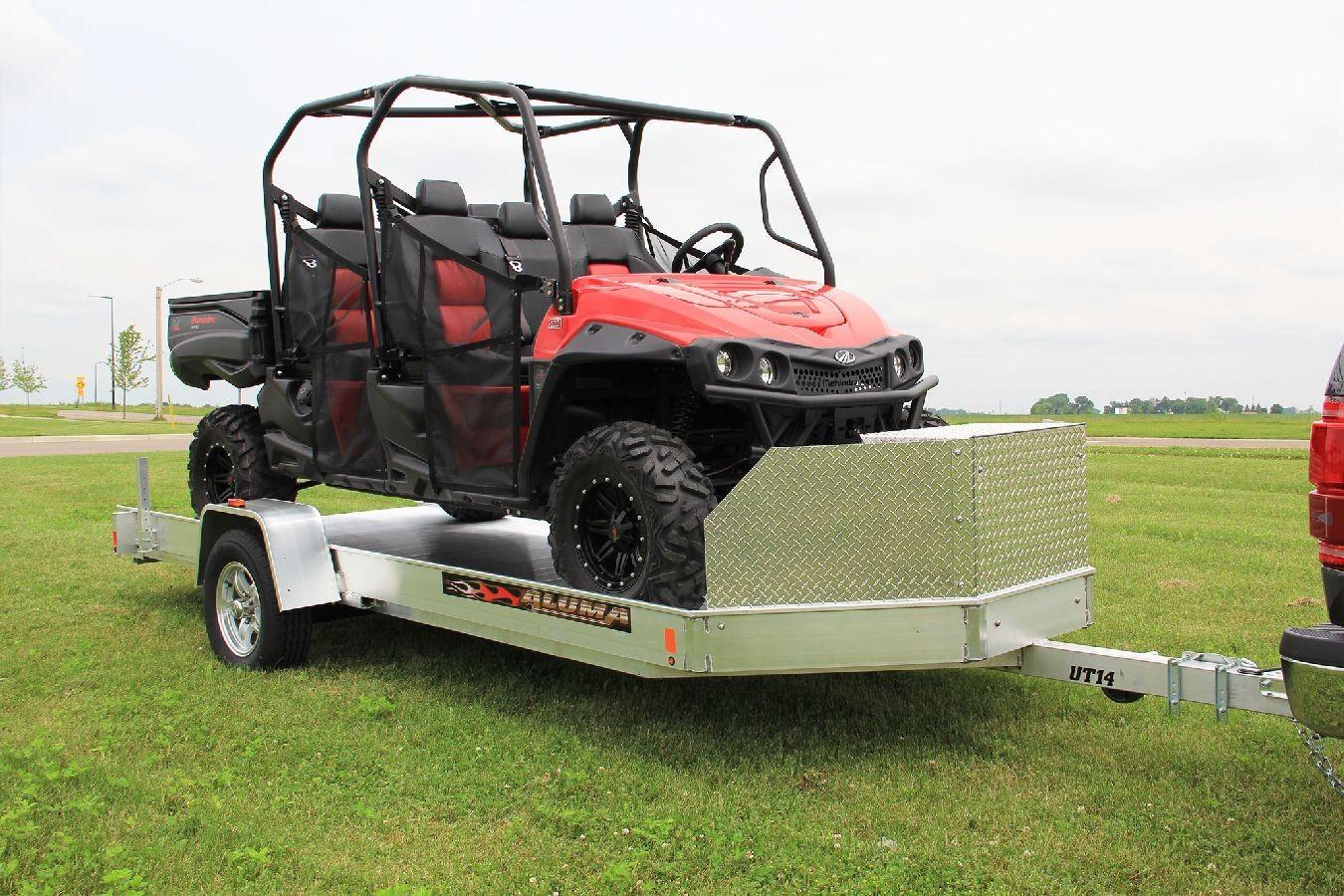 Aluminum Atv Ramps >> Aluminum ATV Trailer
