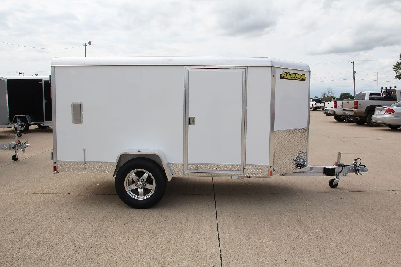 Aluminum Enclosed Trailers Motorcycle Trailer