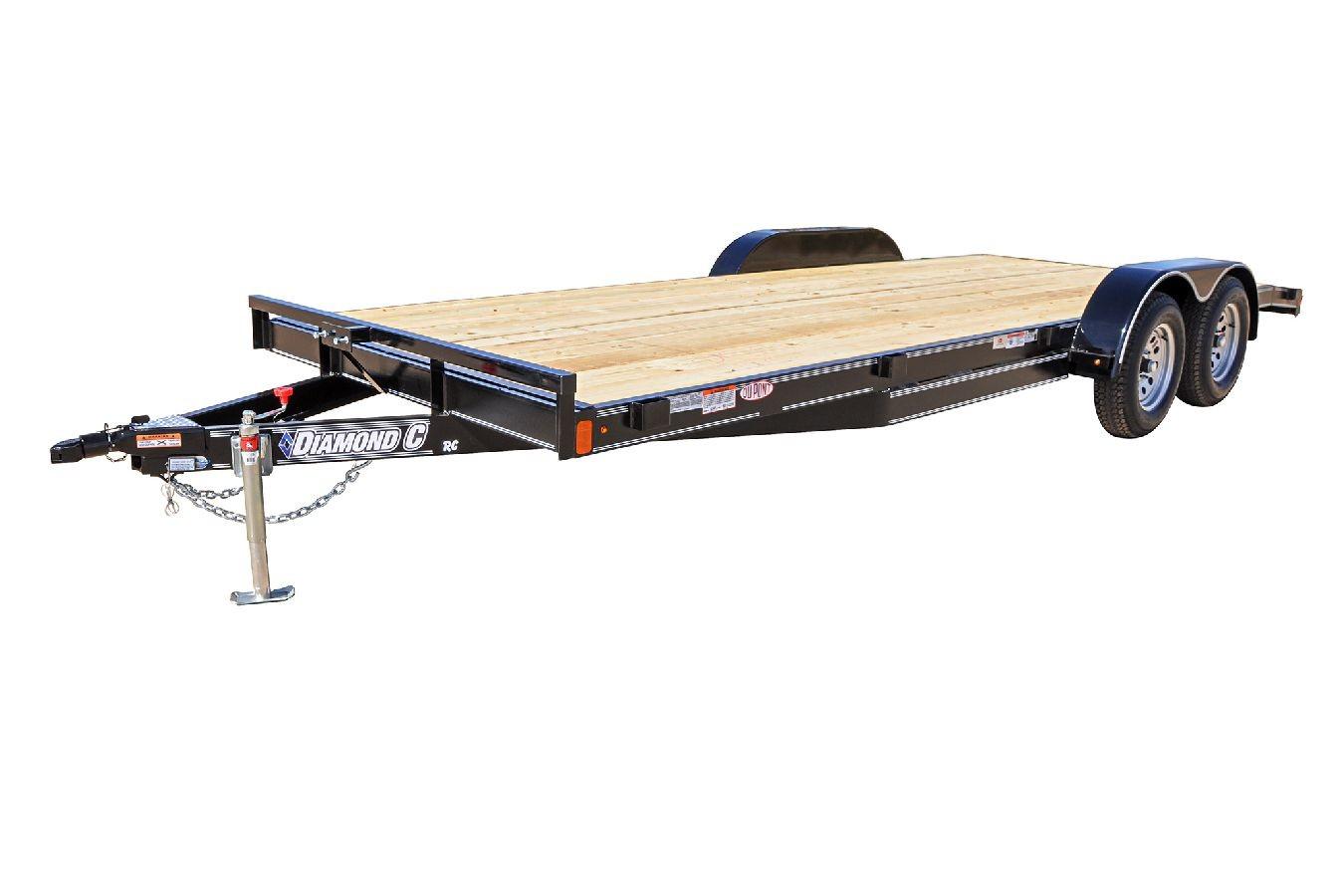 Car Hauler Flat Deck Trailer