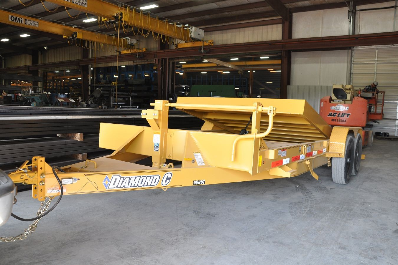 Diamond C 45hdt Low Boy Tilt Trailer