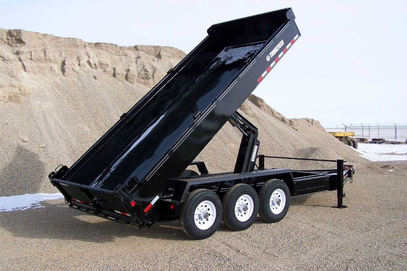 Aluminum Atv Ramps >> Heavy Duty Dump Trailer by Trailtech