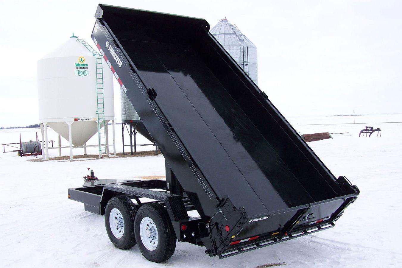 Aluminum Atv Ramps >> Heavy Duty Dump Trailer by Trailtech