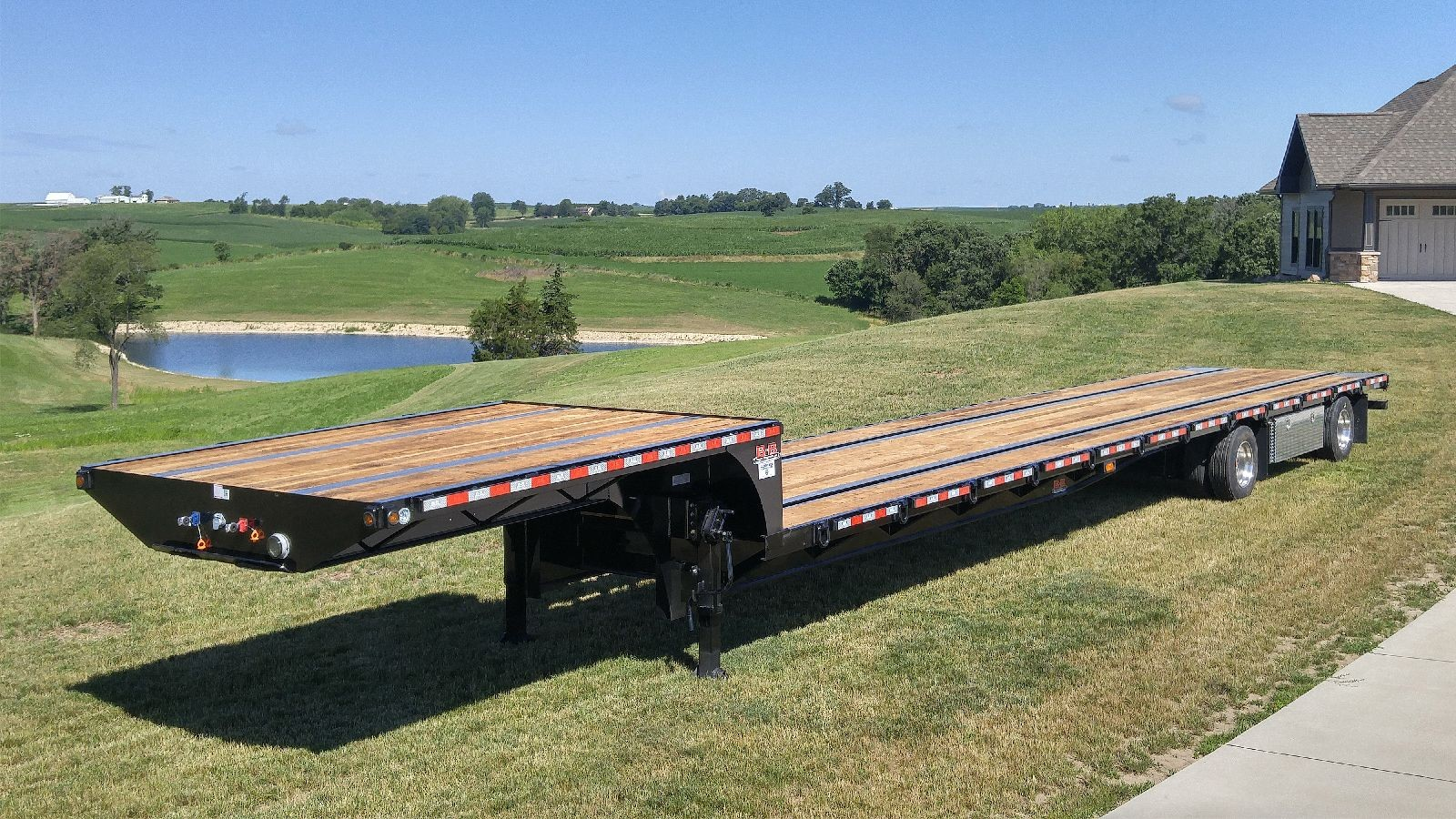 Step Deck Trailer >> Step Deck Trailers For Sale