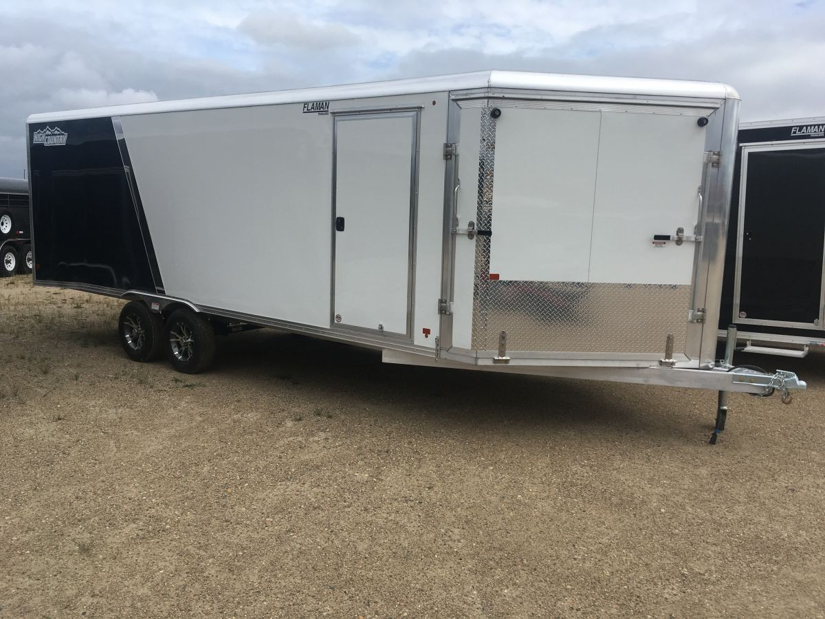 Used enclosed snowmobile trailers for sale near me