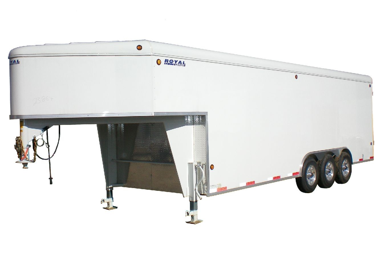Gooseneck Enclosed Cargo Trailers