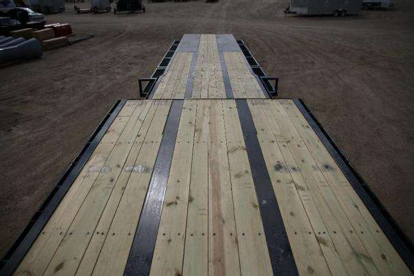 Double Wooden Deck
