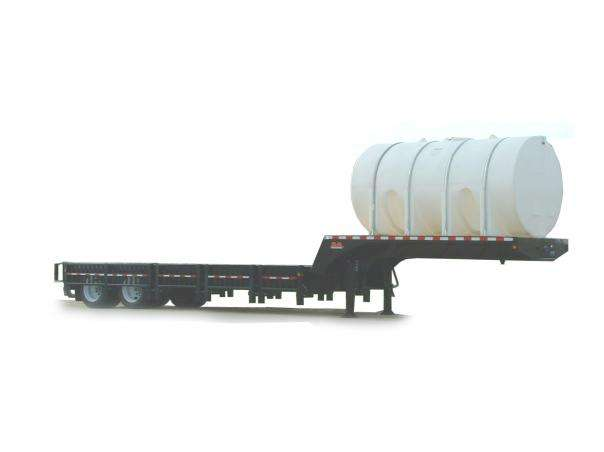 Behnke Sprayer Trailer with Tank on upper deck