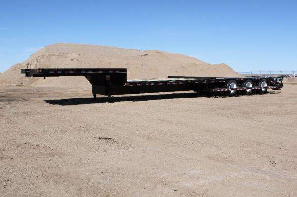 Trailtech Semi Sprayer Trailer Side Biew