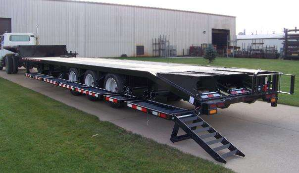 Behnke Semi Sprayer Trailer Lighting