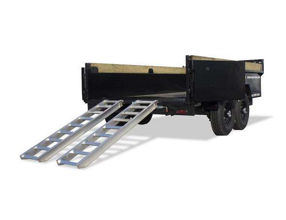 Southland SL 280 Dump Trailer Rear Gate and Ramps