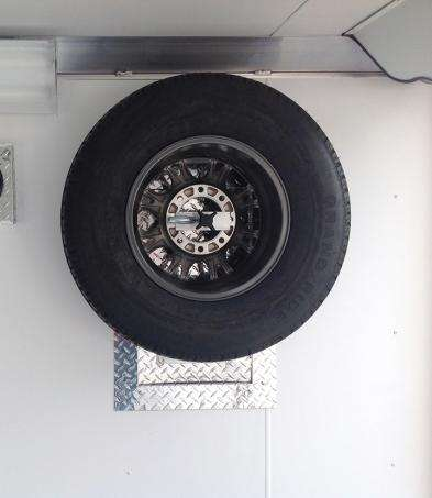 Spare Tire wall mount