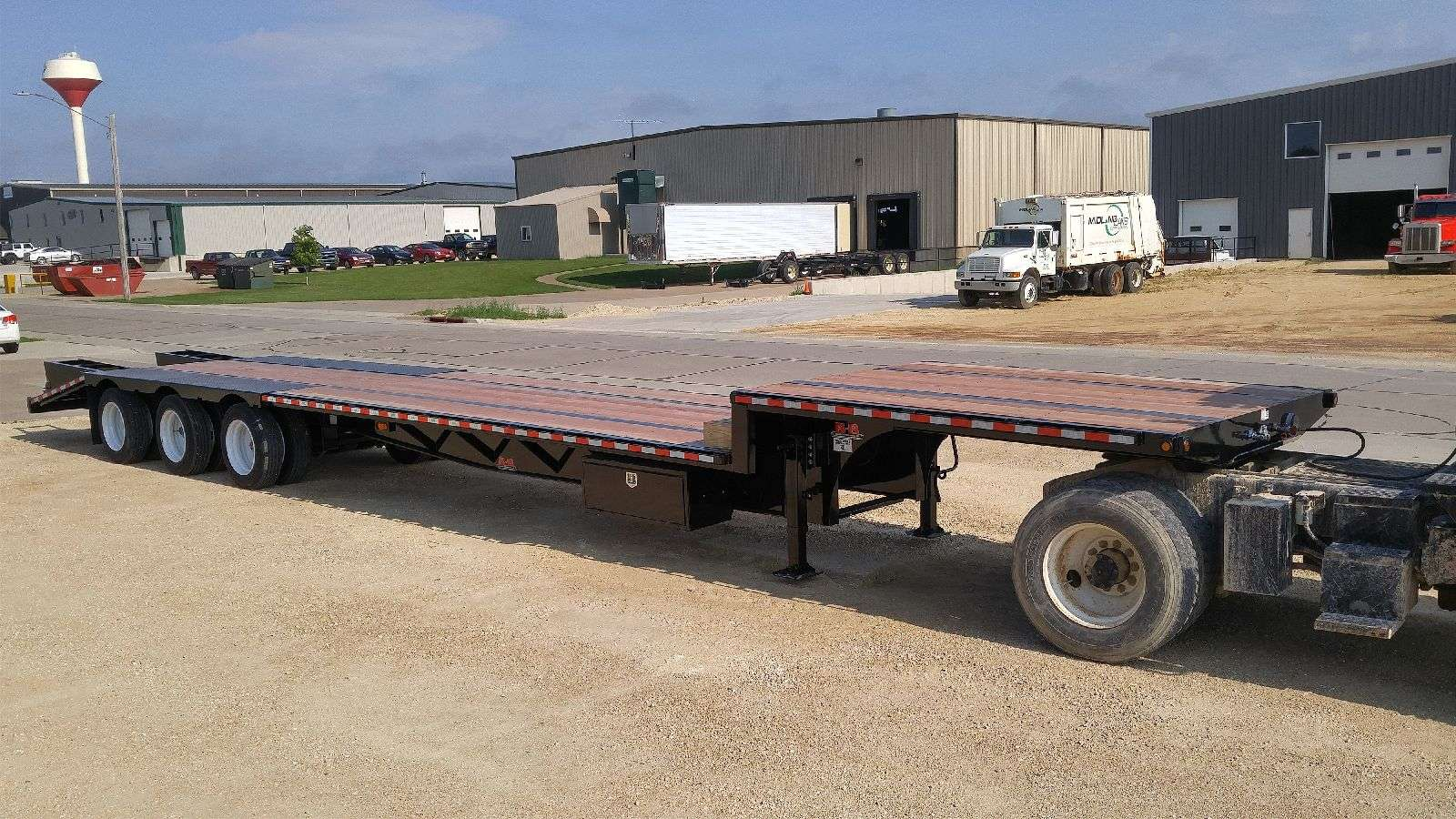 Behnke Step Deck Semi Trailer