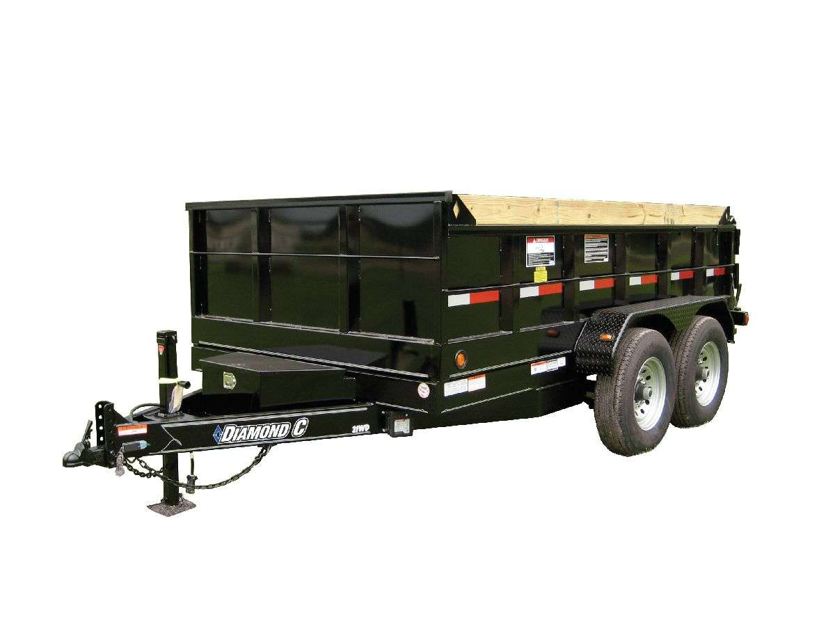Commercial Dump Trailer