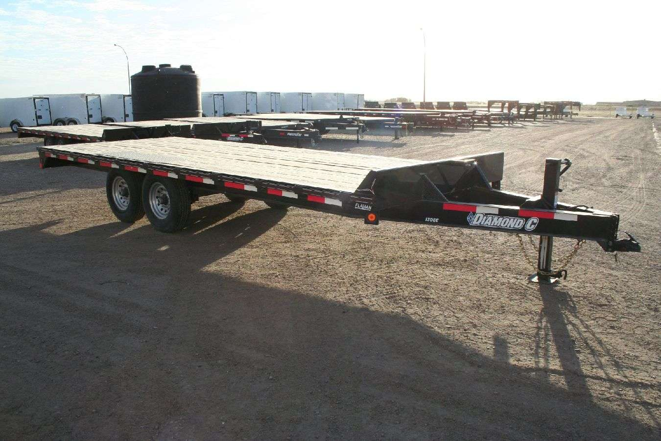 Highboy Flatdeck Equipment Trailer