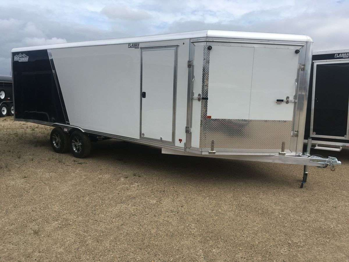 High Country HES101 Aluminum Sled Trailers