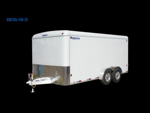Royal Cargo 7x14 Enclosed Cargo Trailer White