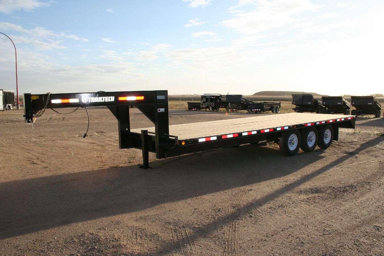 Flat Deck Equipment Trailers
