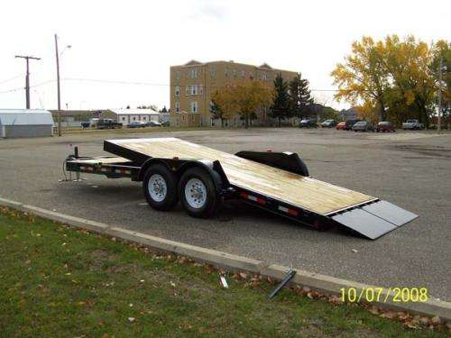 Trailtech Premier Tilt Deck Equipment Hauler