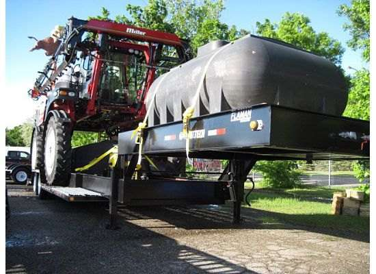 Trailtech Sprayer Trailer With Tank Mounted