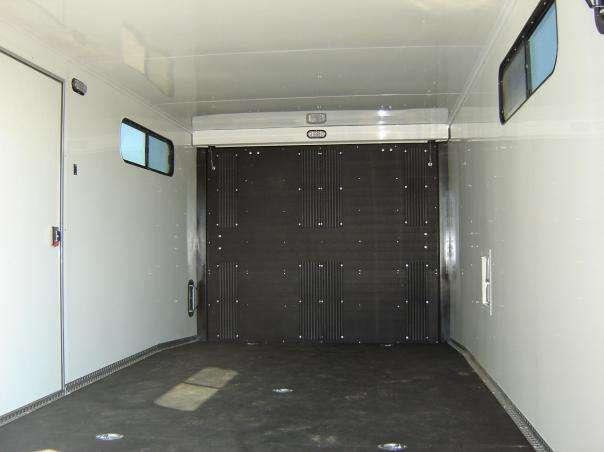 XR Sled trailer interior