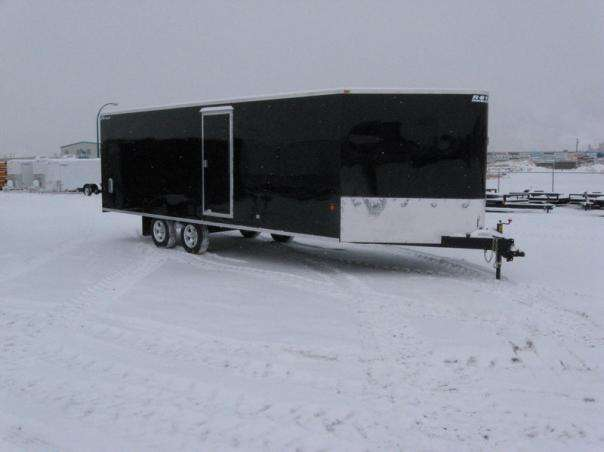 XR highboy enclosed sled trailer