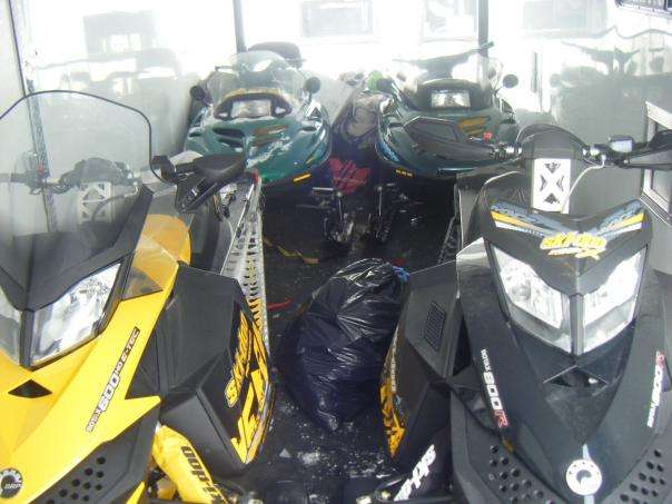 Loaded with 4 sleds