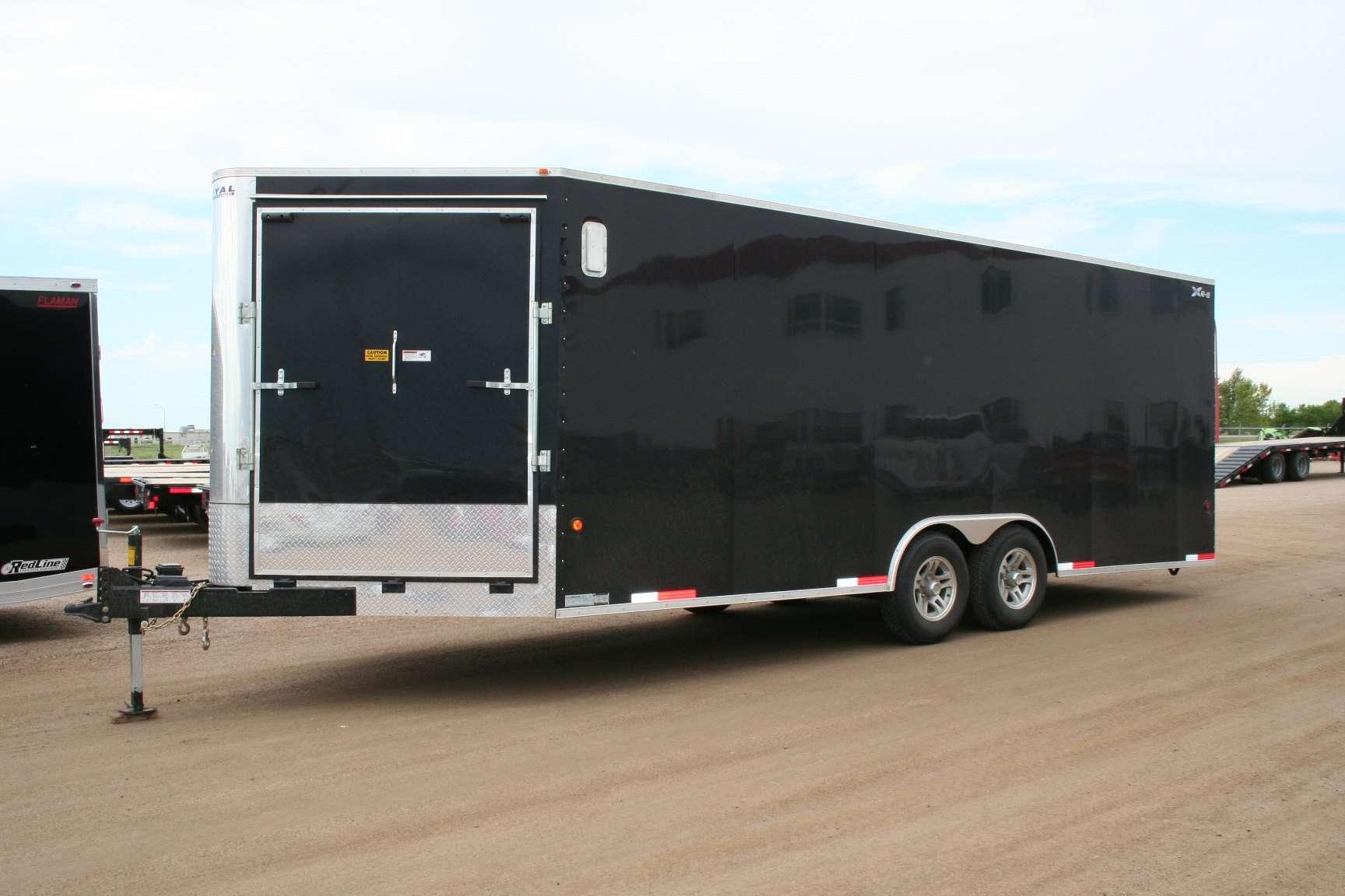 XR lowboy toy hauler trailers