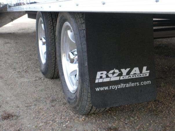 Electric braking axles c/w aluminum wheels