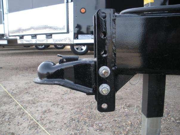 adjustable coupler standard on all models