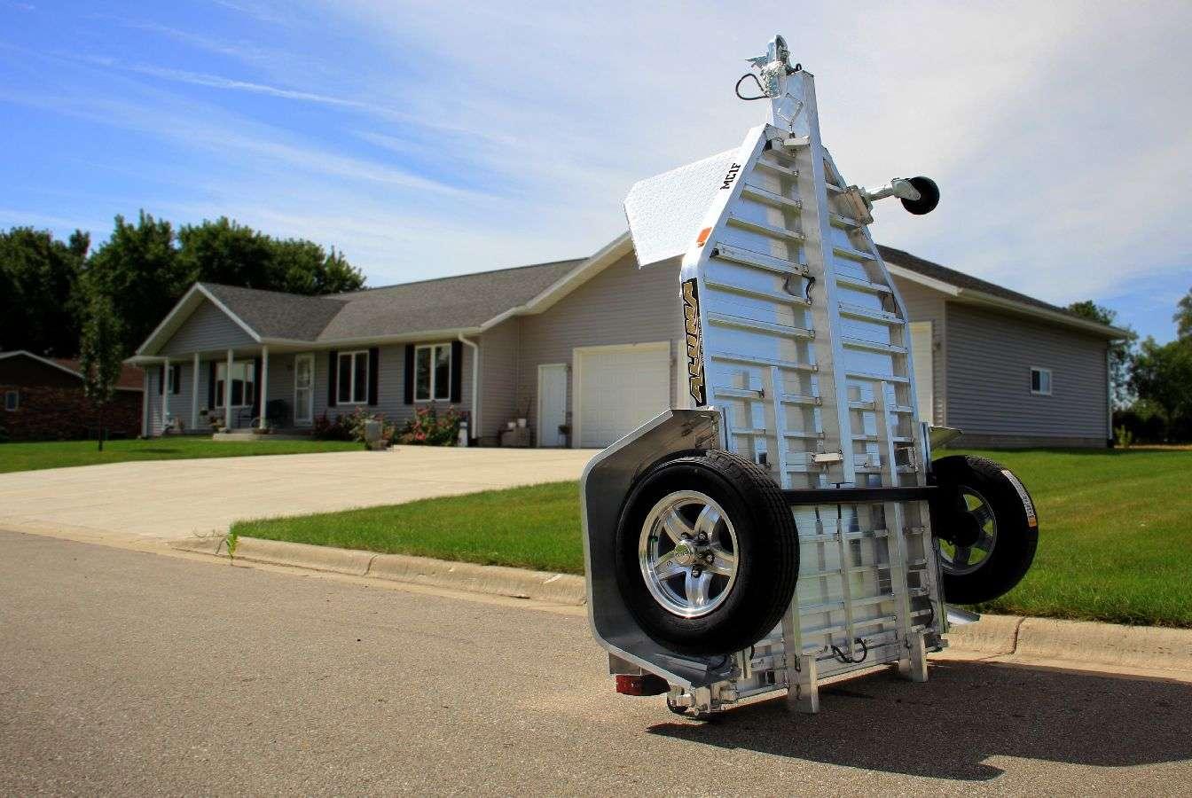 Flat Deck Trailer >> Motorcycle Hauler Trailer   Motorcycle Trailers