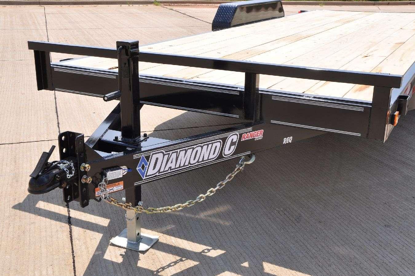 Flat Deck Trailer >> Lowboy Flatbed Trailer Equipment