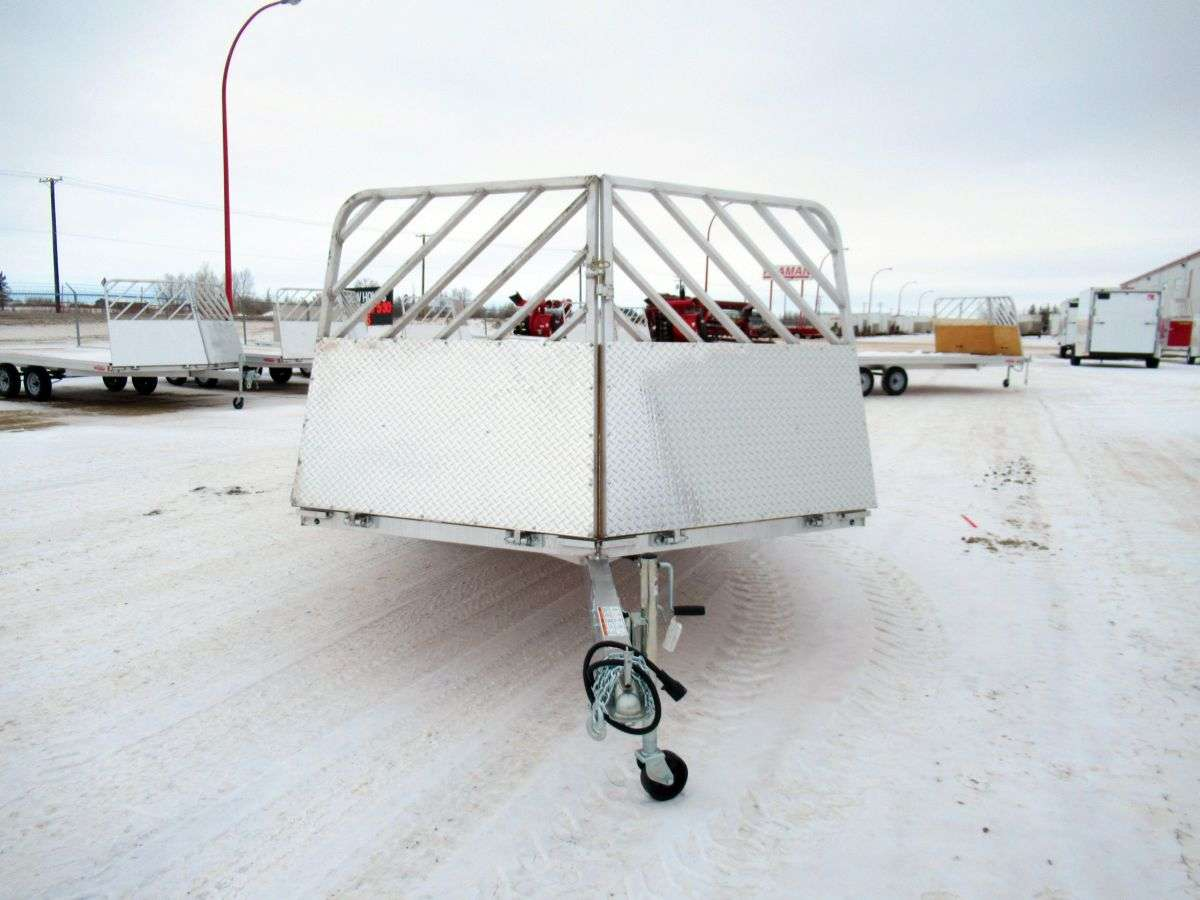 """High Country HFS 101"""" x 16' 3-Place Snowmobile Trailer"""