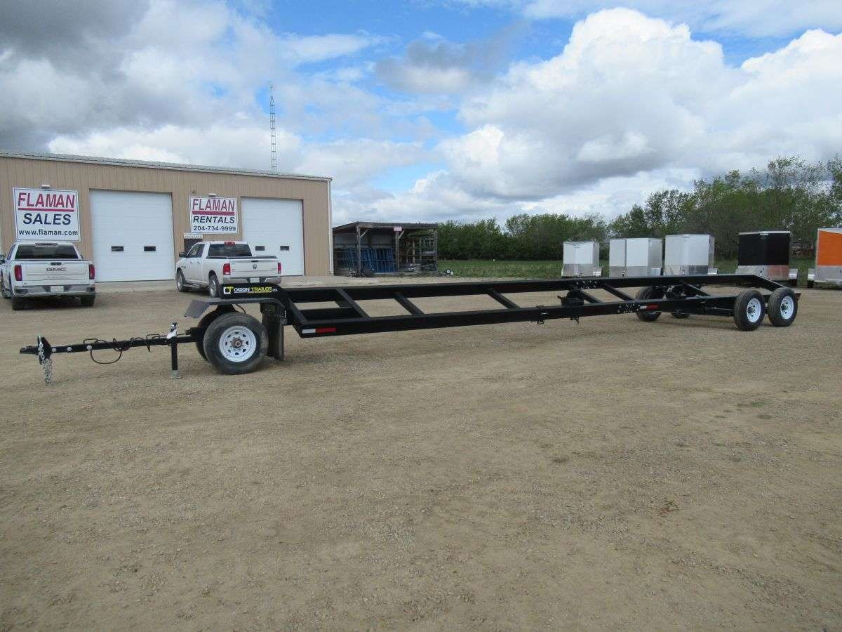 Olson 38' Header Transport Trailer