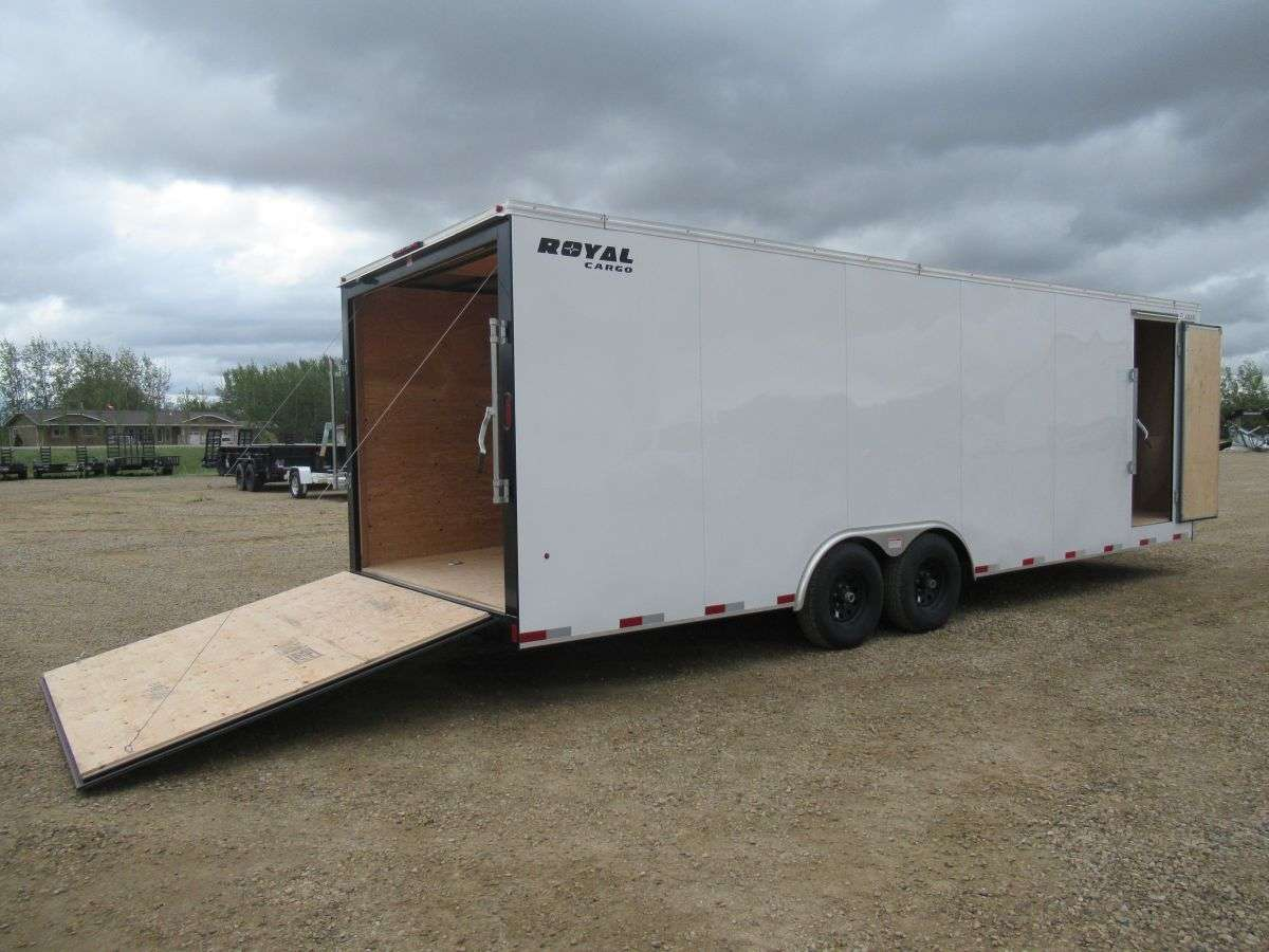 Royal LT 8' x 24' Tandem Axle Cargo Trailer