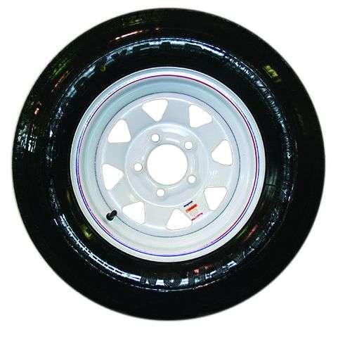 "13"" Tire on Steel Rim"