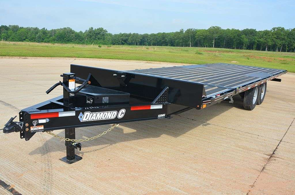 Diamond C Highboy Equipment Trailers
