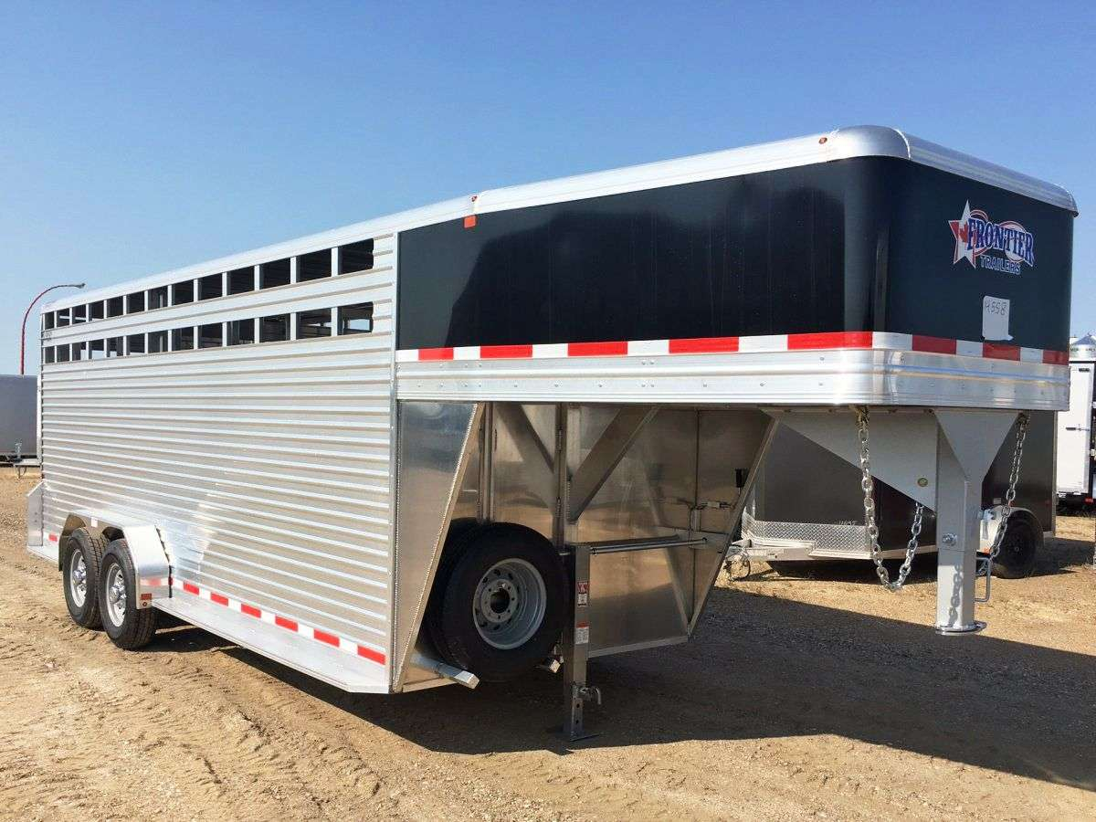 Frontier Trailers Stock Trailers