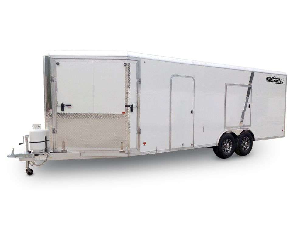 Aluminum Enclosed Trailers for Snowmobiles