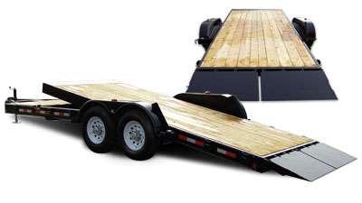 Premier Lowboy Flat Deck Trailers