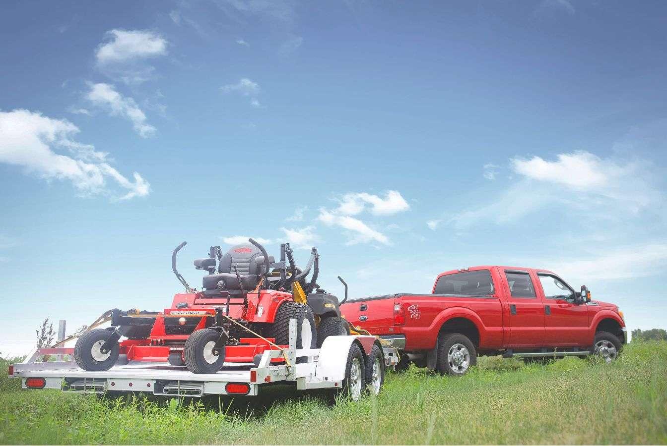 Aluma Single Axle Utility Trailers
