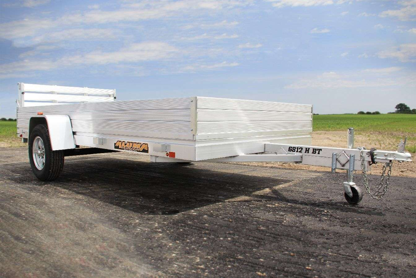 Aluma Single Axle Heavy Duty Trailers