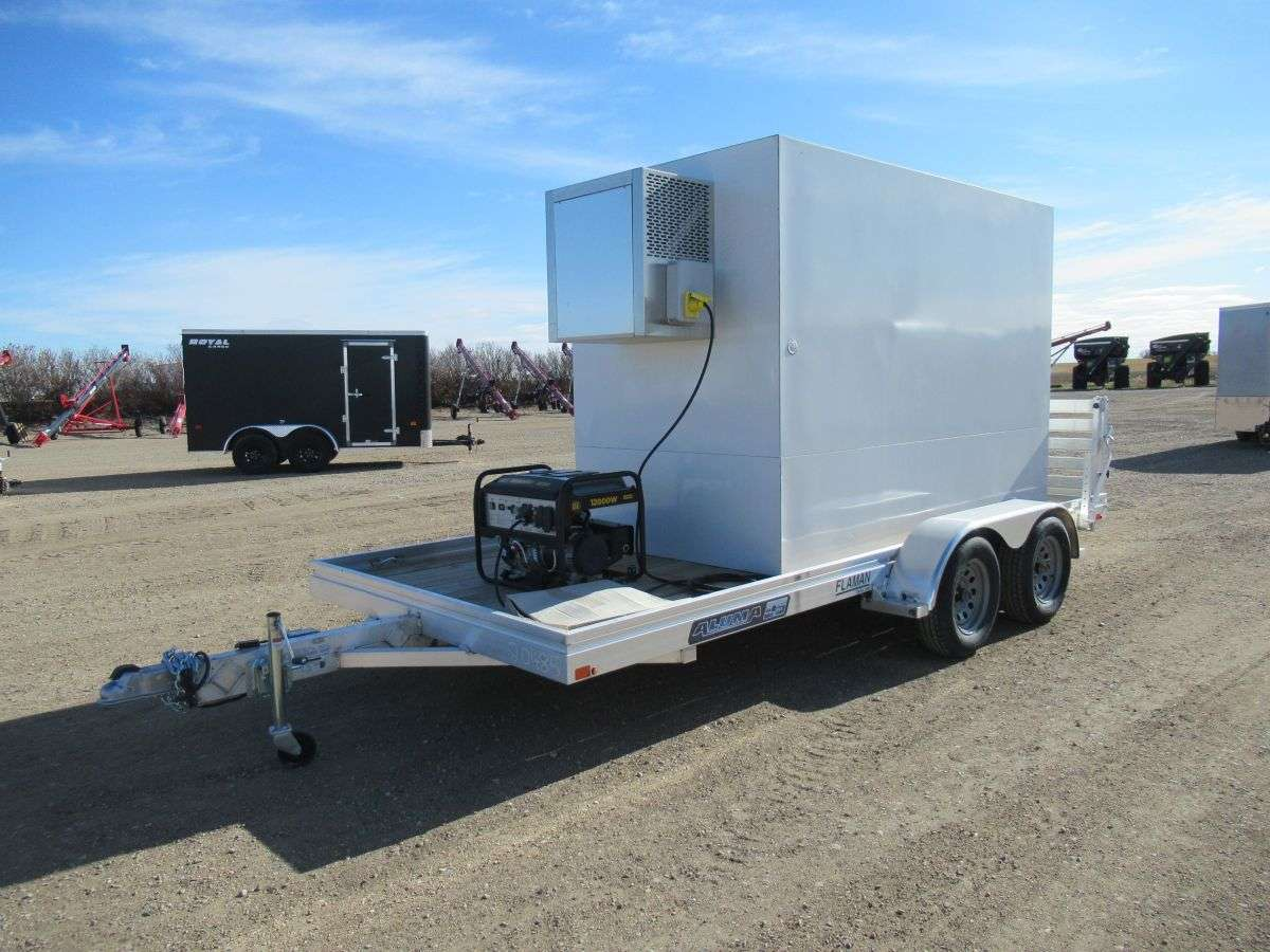 Aluma 16' Polar Temp Trailer