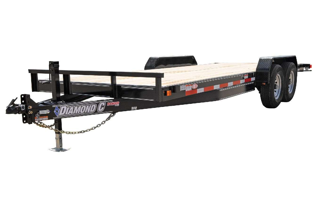 Diamond C Lowboy Equipment Trailers