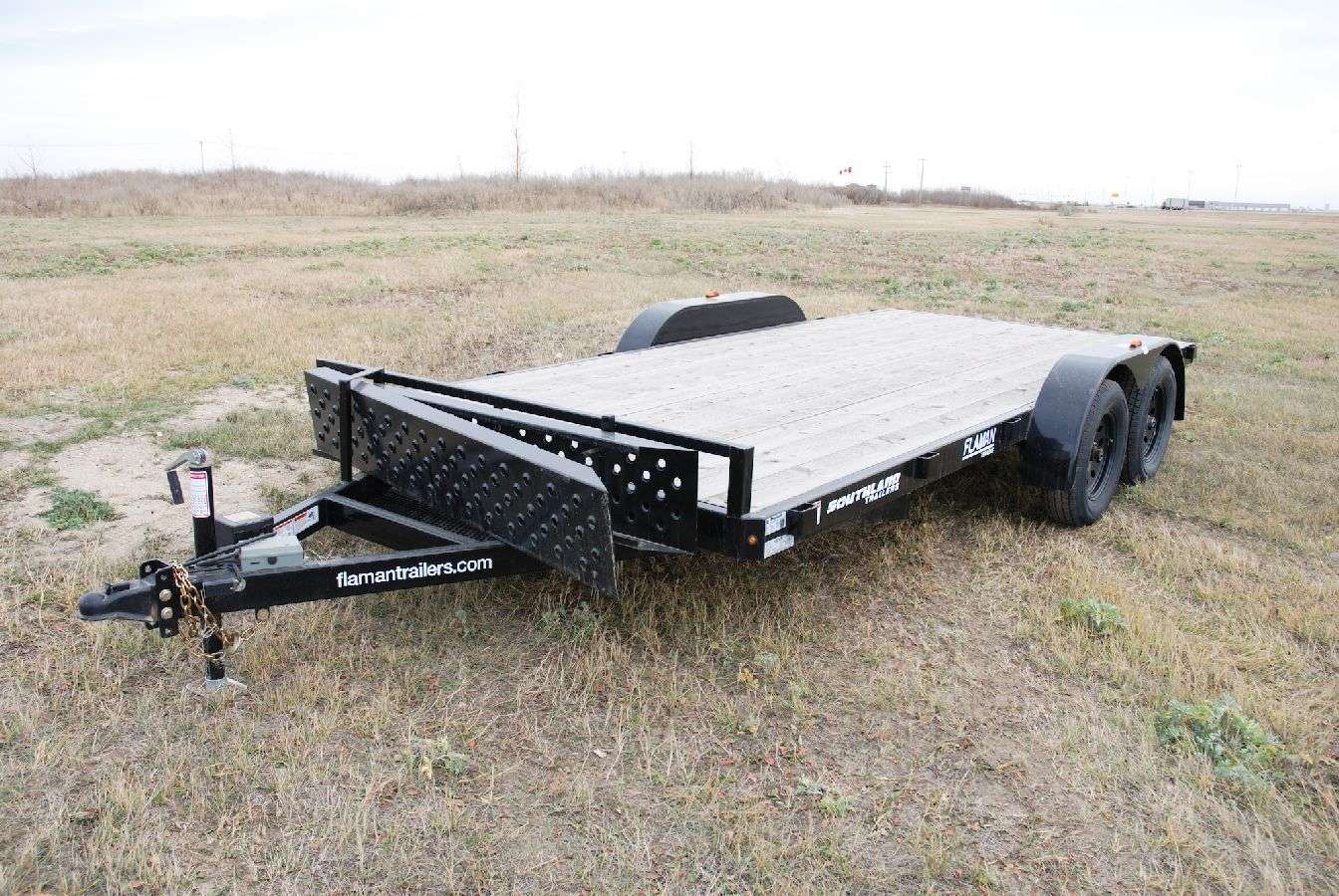 Southland Lowboy Equipment Trailer