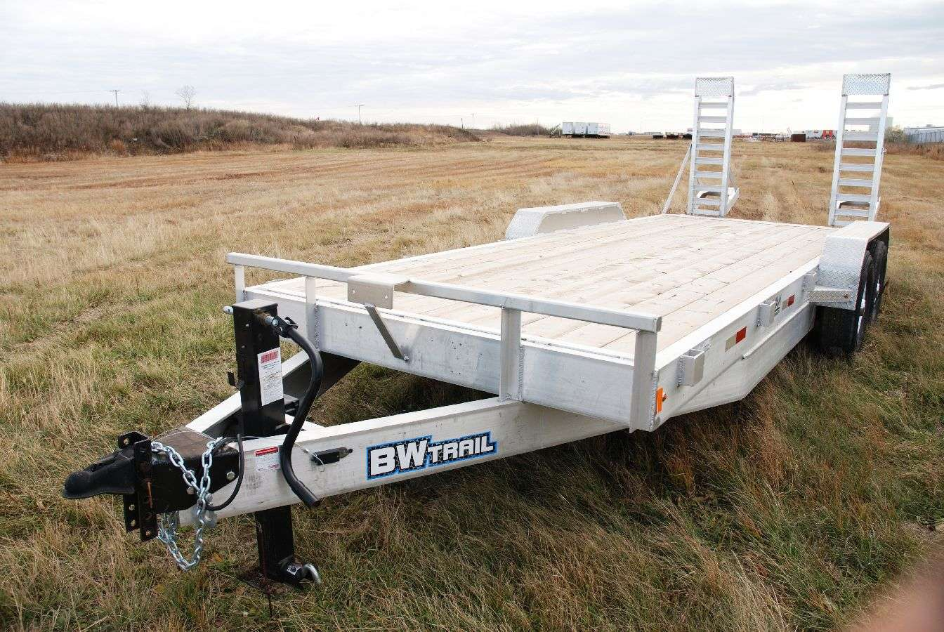 BW Trail Aluminum Equipment Trailer