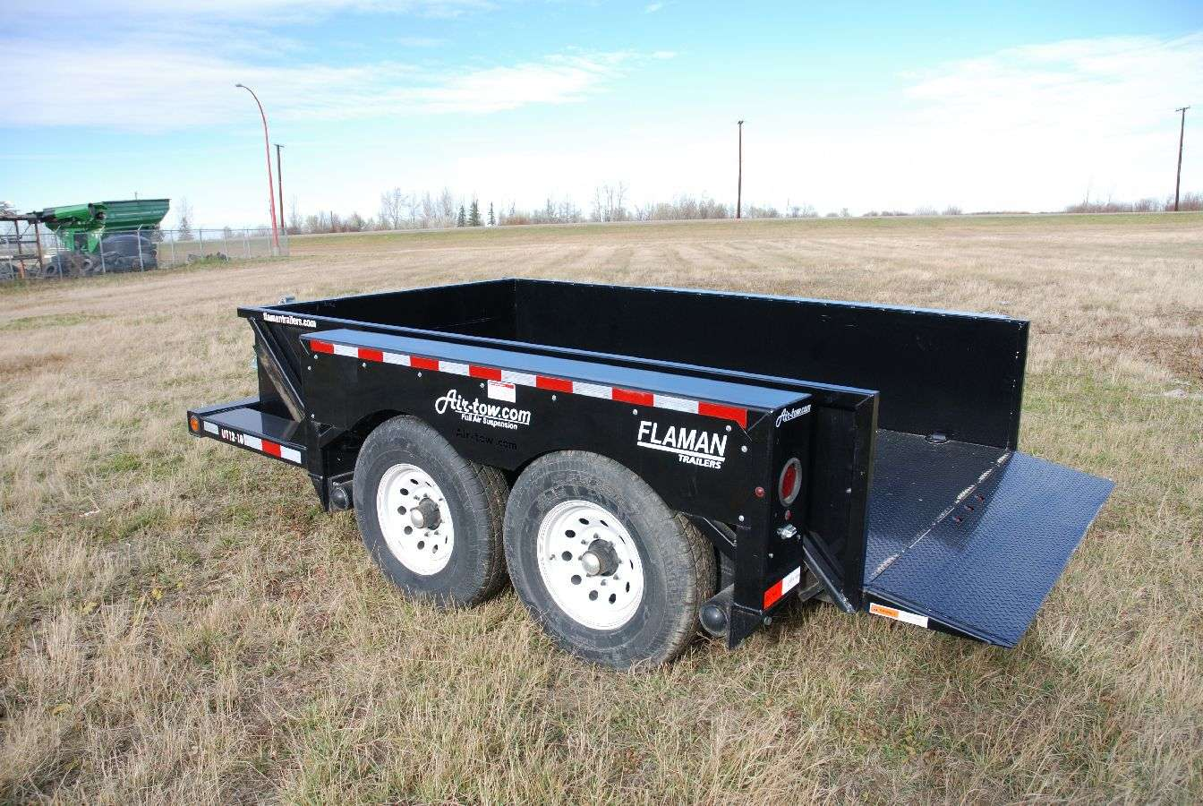 Air-tow Flatbed Level Loader