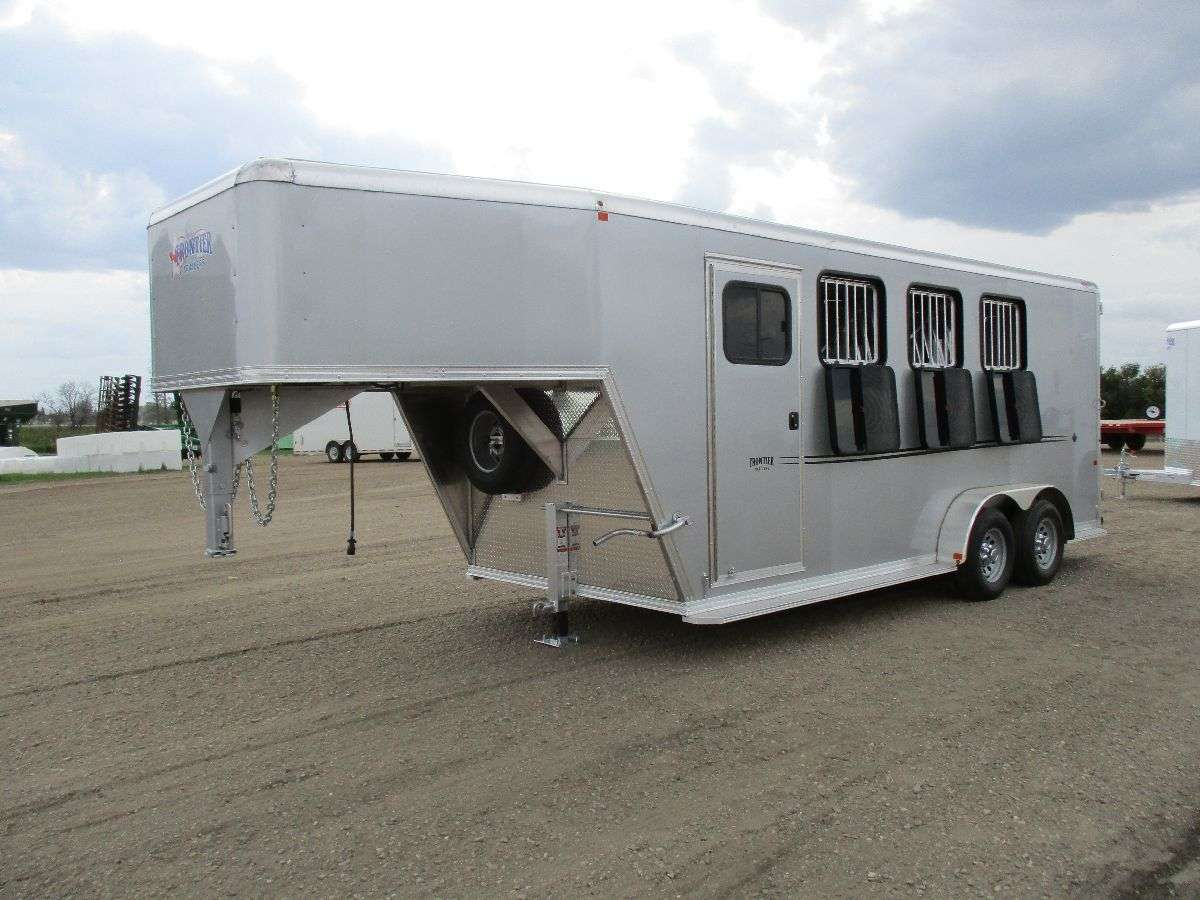 Frontier Trailers Horse Trailers